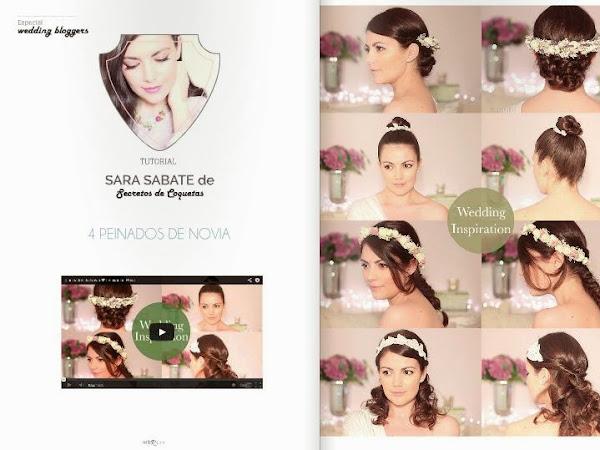 4 Peinados de Novia DIY by Sara Sabate