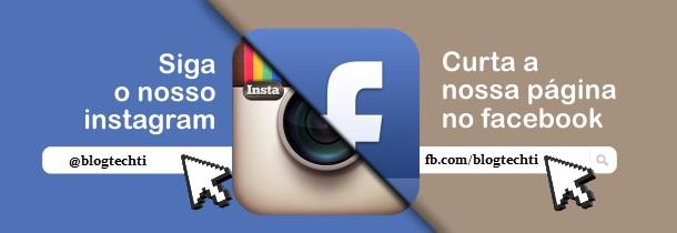 SIga o blog nas redes sociais