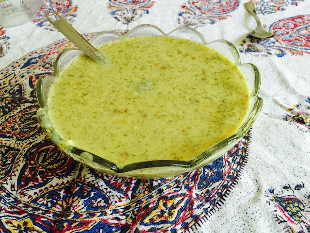 Persian Ashe Mast soup