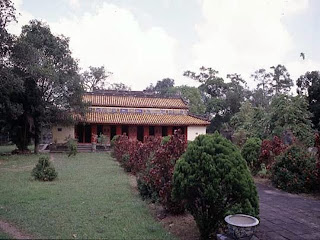 Imperial Tomb of Gia Long in Hue, Vietnam