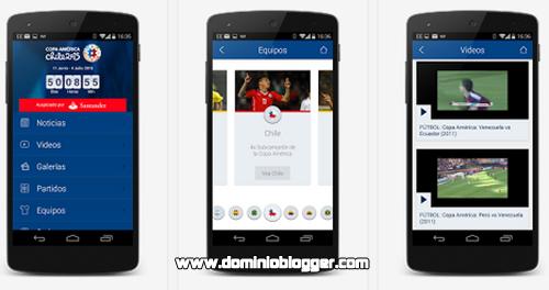 Descarga la aplicacion oficial de la Copa America Chile 2015