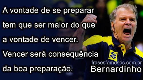 Frases de Bernardinho