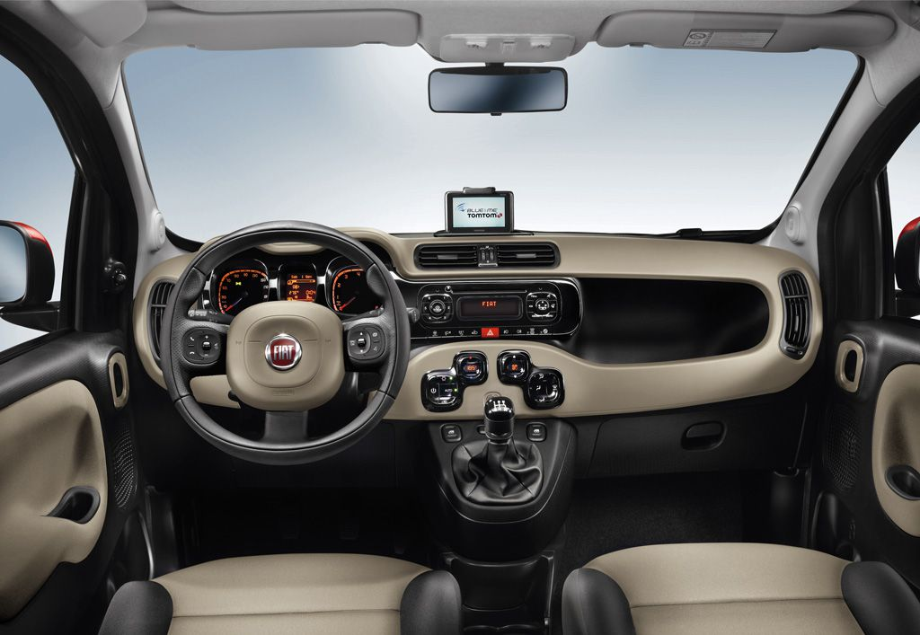 Nuova fiat panda supercompatta ma con spazio da vendere for Future interieur