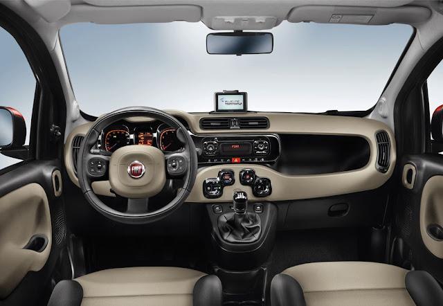 Fiat Nuova Panda 2012 cruscotto