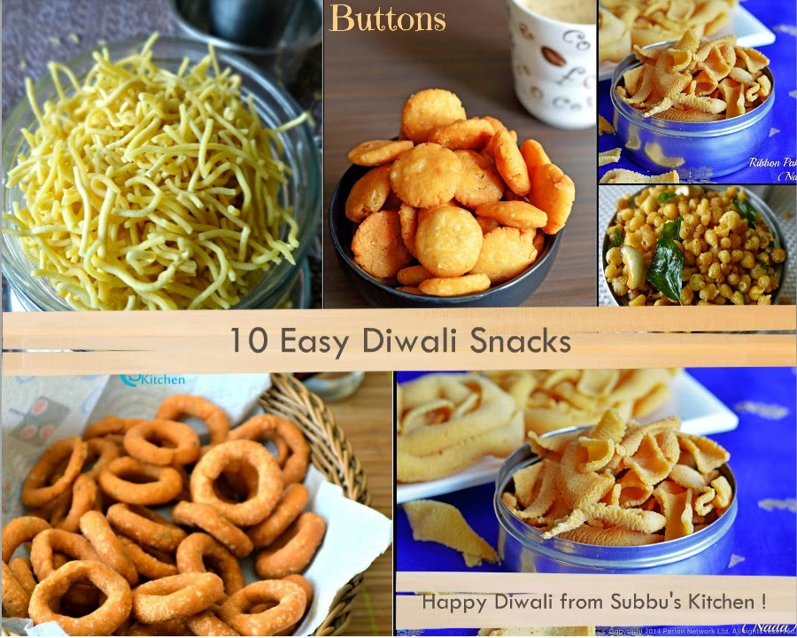 10 Easy Diwali Snacks