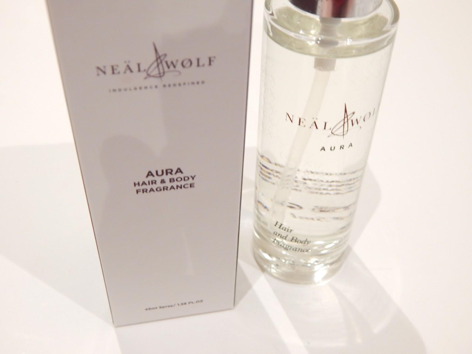 Neal & Wolf AURA hair & body fragrance,