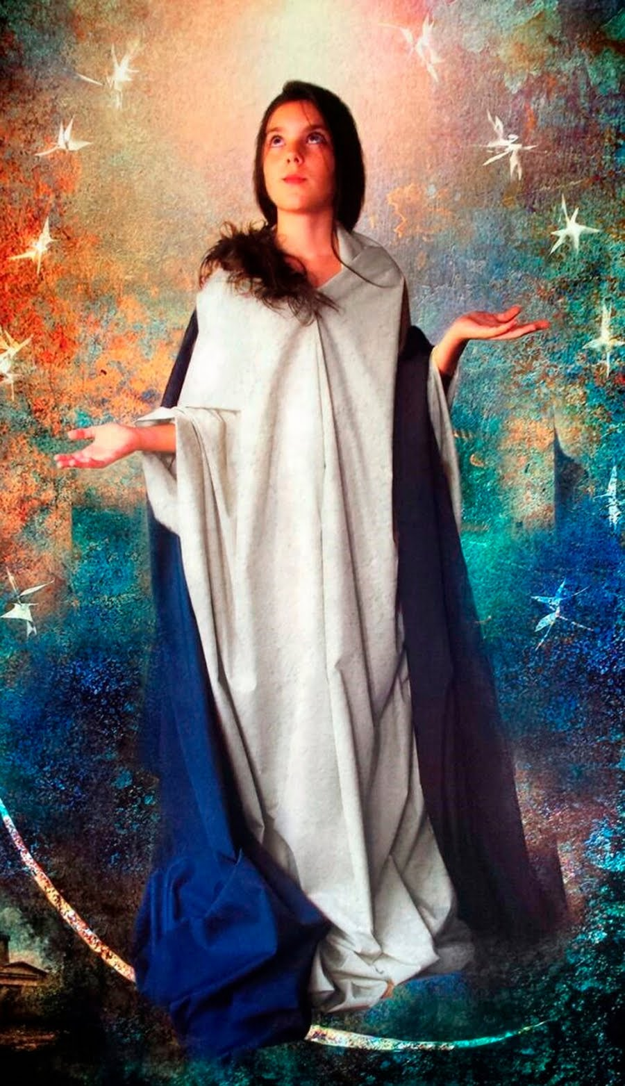 Icono de la Inmaculada Joven
