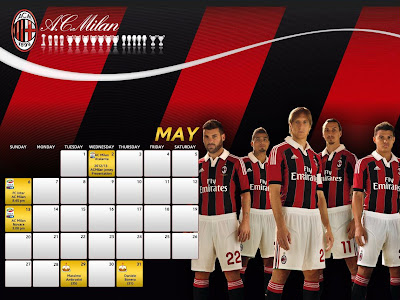 Gratis Download Wallpaper AC Milan HD Terbaru 2012 - 2013
