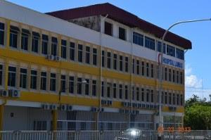 hospital baru di Lawas, Sarawak yang gagal disiapkan sehingga kini