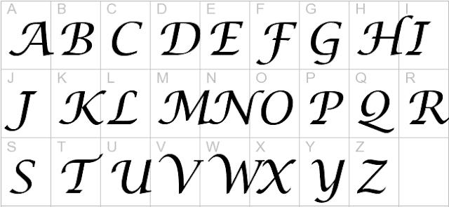 Lucida Handwriting Italic