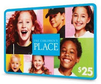 The Children's Place GC Giveaway