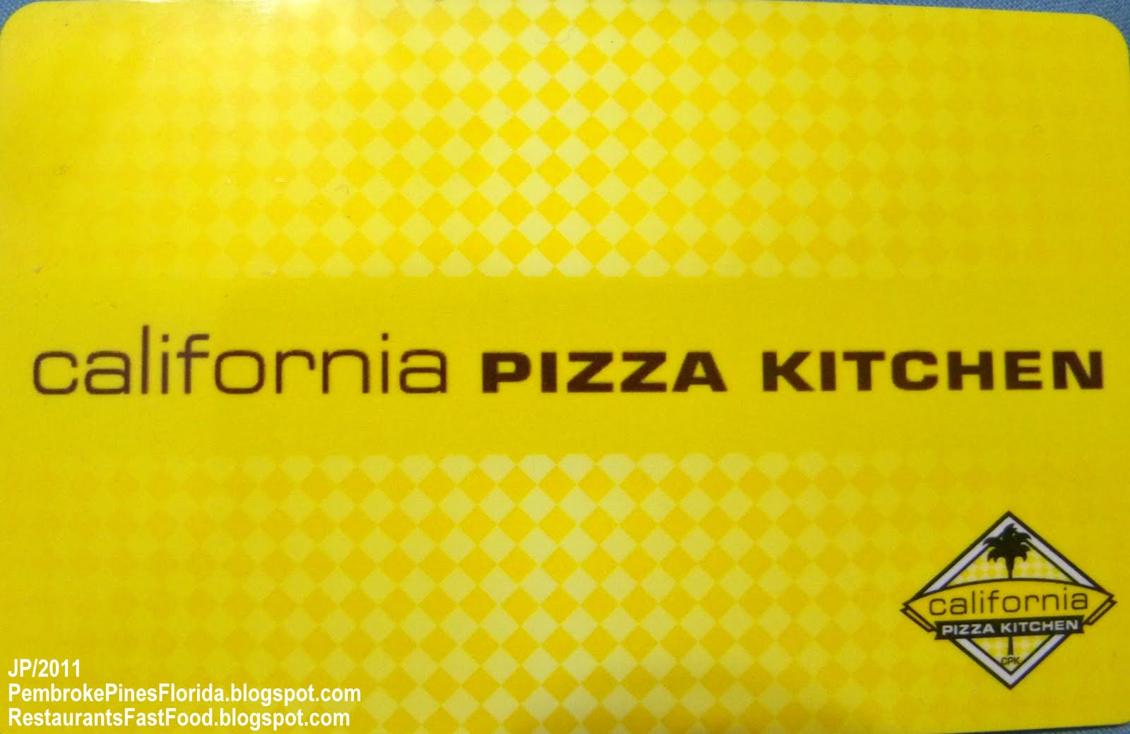 California Pizza Kitchen Florida