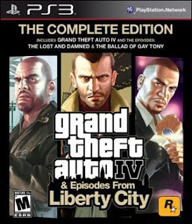 لمحبي سرقة السيارات لعبة  Grand Theft Auto IV: The Complete Edition (PS3) GTA+IV+The+Complete+Edition