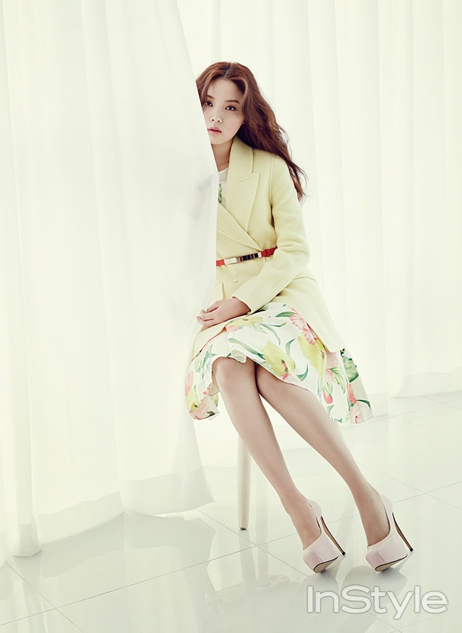Yoon So Hee - InStyle February 2014