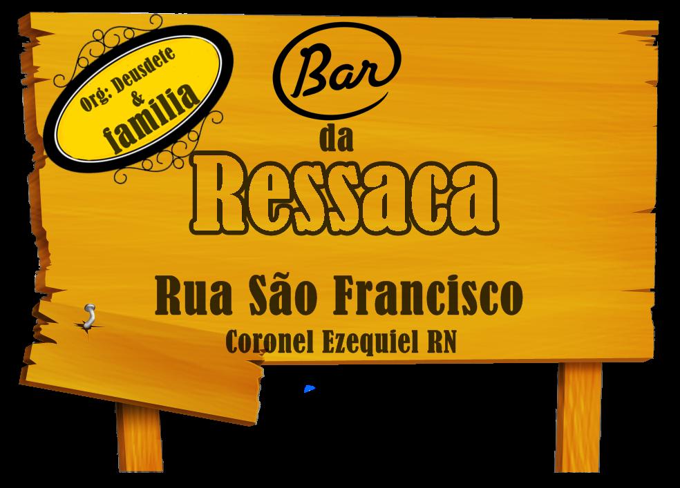 BAR DA RESSACA