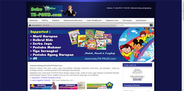 Buku TK, polisi online