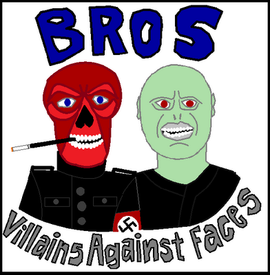 Red Skull and Voldemort are against faces