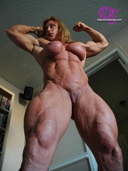 фото голые накаченные женщины