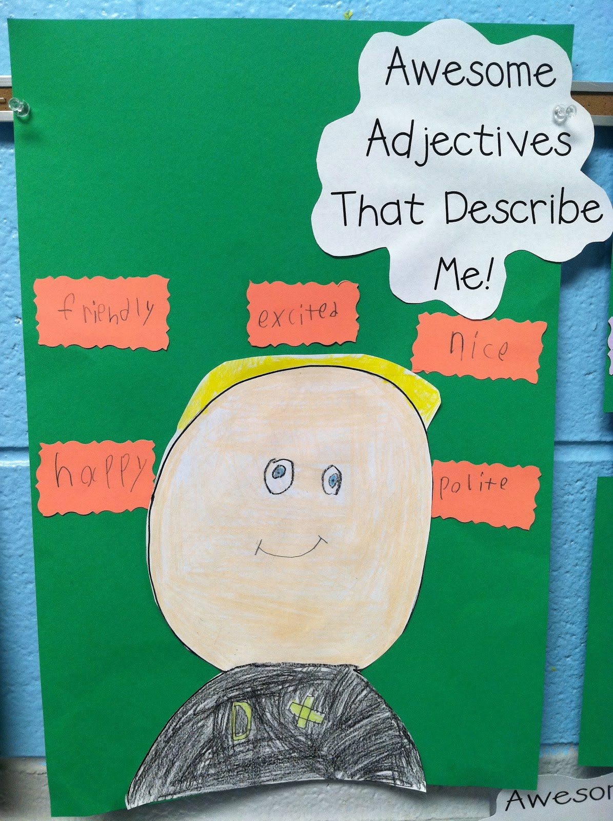 life in first grade awesome adjectives and anchor charts this week we re learning about barnum brown aka mr bones this story is all about the discovery of the first t rex we made a brace map to help organize