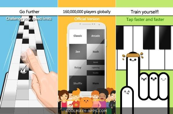 Cool Math Apps - Piano tiles 1