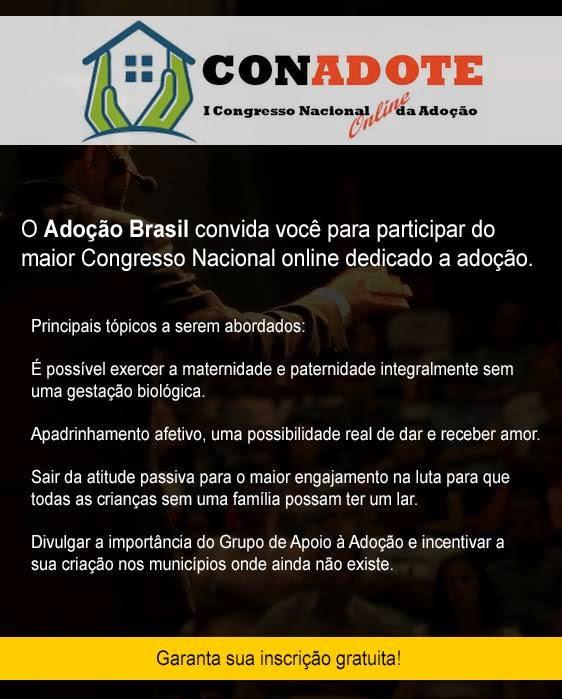 Congresso Nacional Online de Adoção