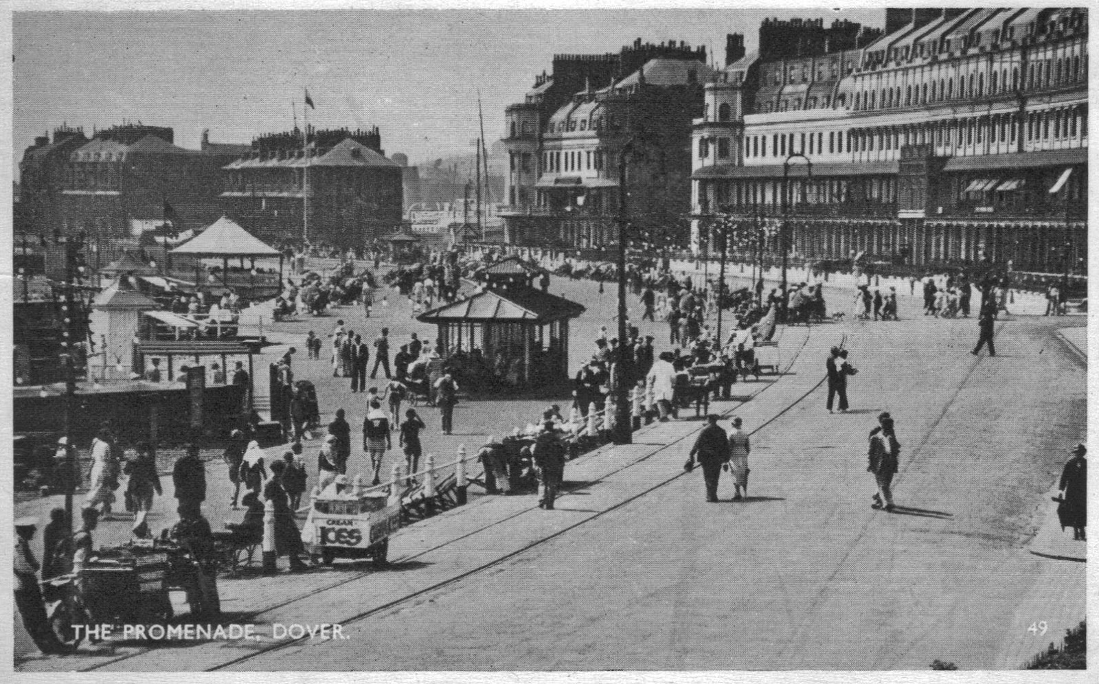 1950s Photo Of The Promenade, Dover