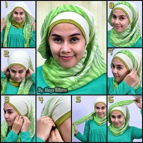 hijab easy styles  saima beauty salon and easy beauty tips