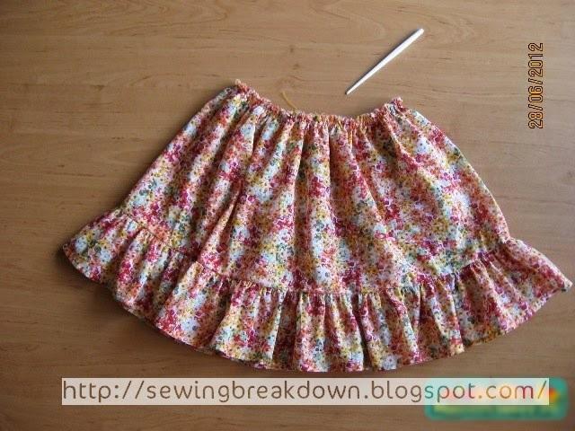 db3538f773e72 خطوات خياطة فستان بنت صغيرة