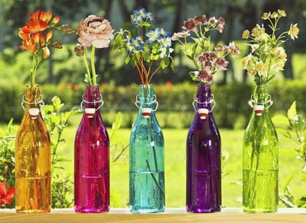 Garrafas Decoradas Reciclagem Faça Você Mesmo DIY
