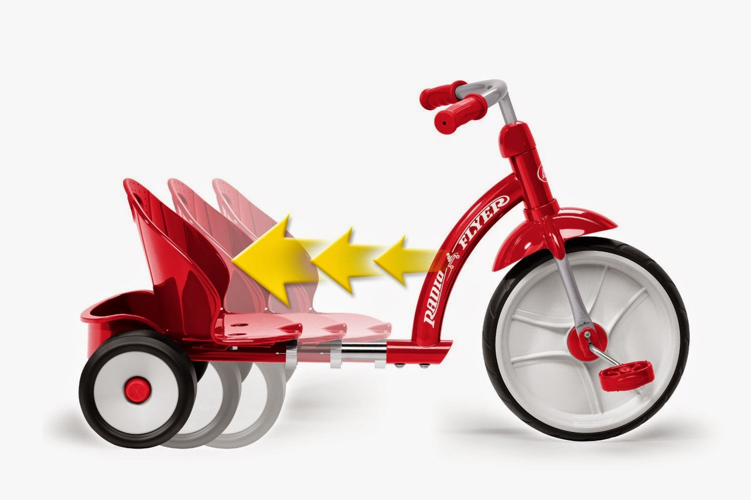 Radio Flyer 10 Classic Tricycle - Red : Target Old fashioned big wheel tricycle