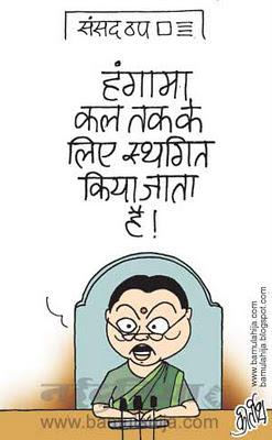 meera kumar cartoon, parliament, indian political cartoon
