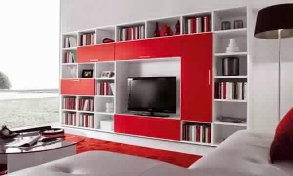 Meuble Tv Avec Rangement Fly : Meuble TV avec rangement moderne Meuble ...