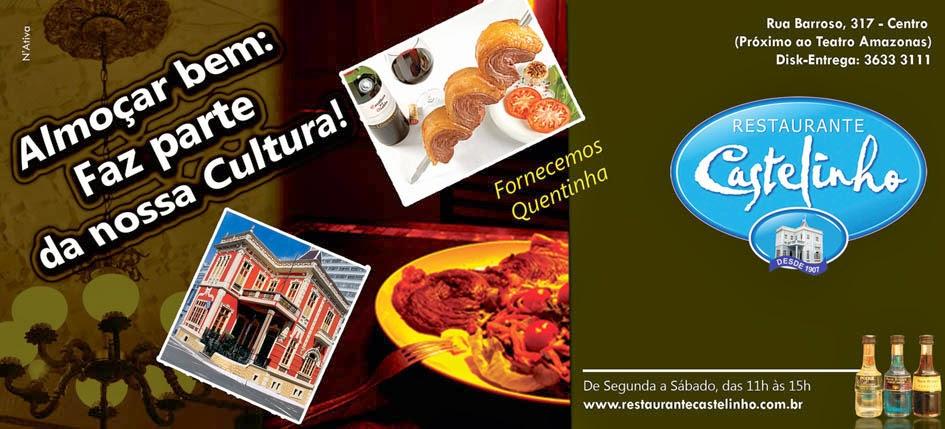 APOIO CULTURAL: RESTAURANTE CASTELNHO