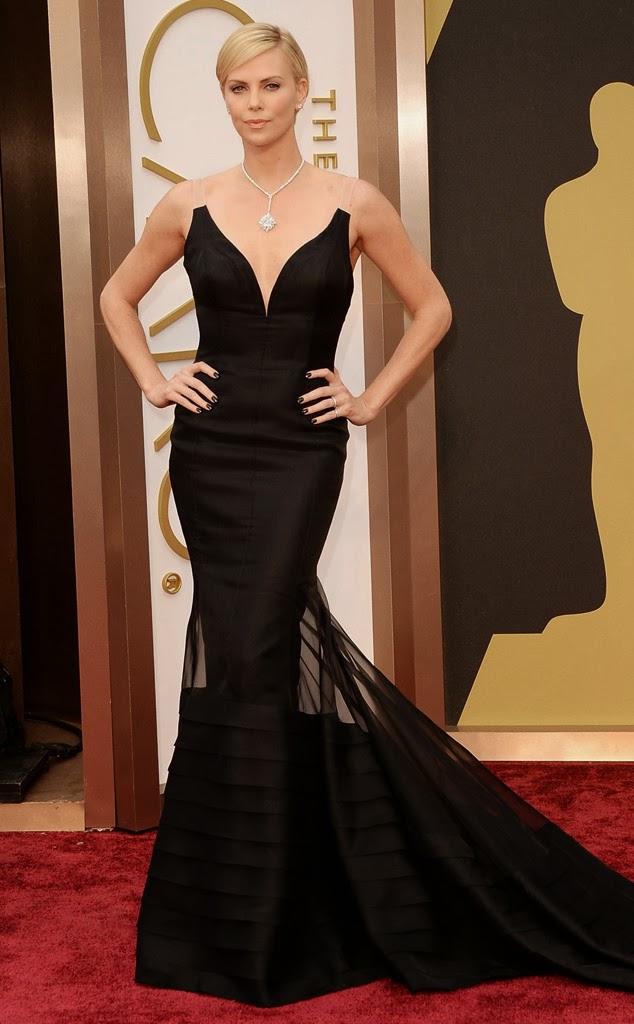 Oscars, Charlize Theron, Dior