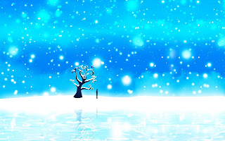 New Wallpapers HD 1080i: Lonely on a Blue Christmas HD Wallpaper 1080p