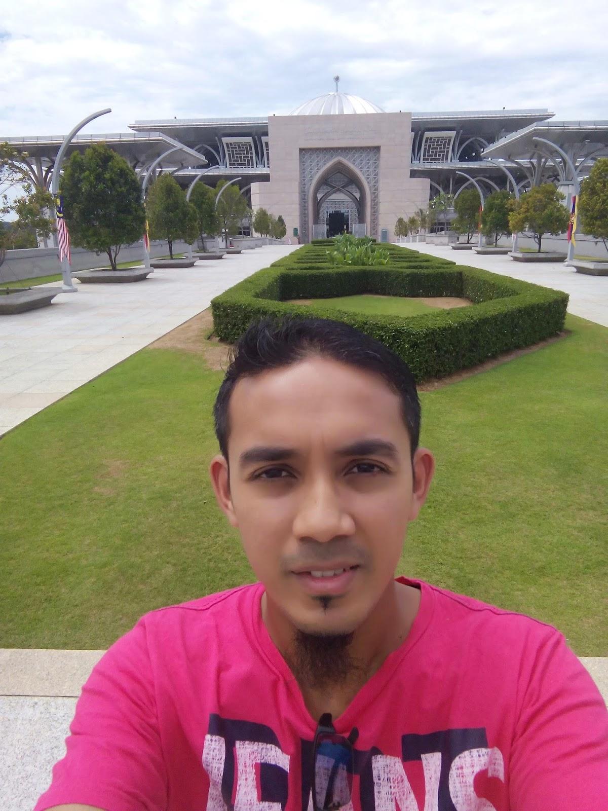 Selfie, Masjid Besi, Masjid Tuanku Zainal Abidin, Putrajaya, visit malaysia 2015