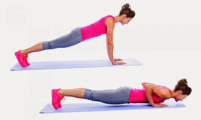 ... : back of arms , fitness at home , Tricep exercises , women fitness