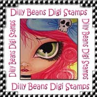 Dilly Beans Digi Stamps!