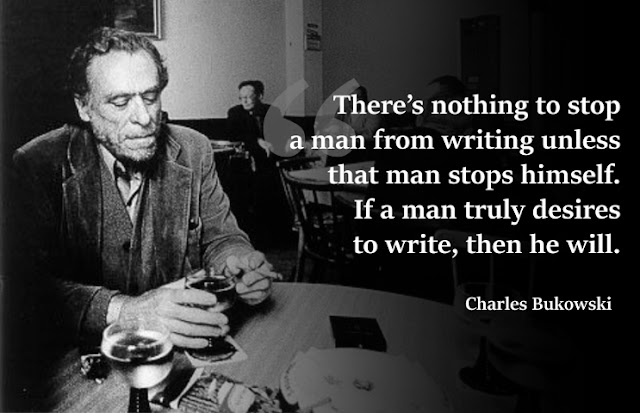Charles Bukowski quotation