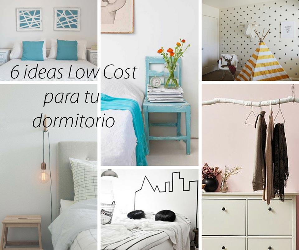 Hogar diez ideas low cost para dormitorios - Habitaciones low cost ...