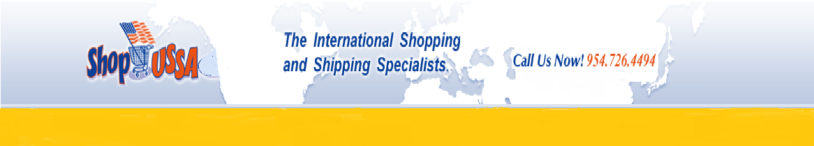 The International Shopping and Shipping Specialists