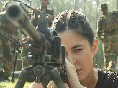 Katrina Kaif with Jawans