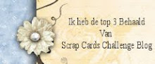 Top 3 bij Scrap-Cards Challenge