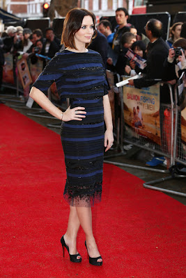 Emily Blunt Beaded Dress