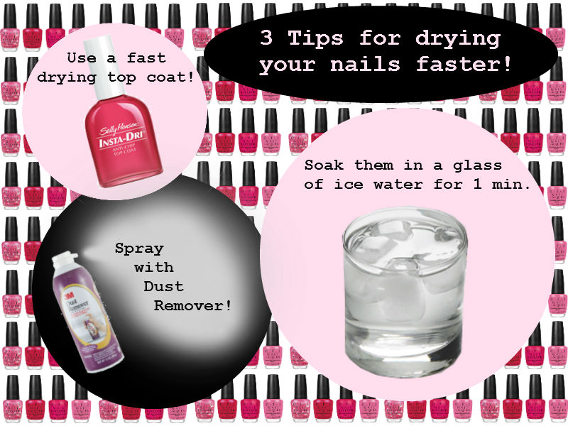 All Dolled Up: Tuesday\'s Tip - Dry Your Nails Faster!
