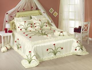 1 bed cover models 2012 Yeni yılda yatak örtüsü modelleri nevresim modelleri