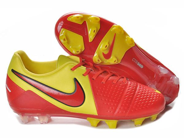 online store 10ea4 fd38e NIKE CTR360 MAESTRI III FG chaussures de football Terrain Sec pour homme  Jaune Rouge-Chaussures de Football Nike Mercurial Vapor Superfly Ⅲ,Adidas  F50.