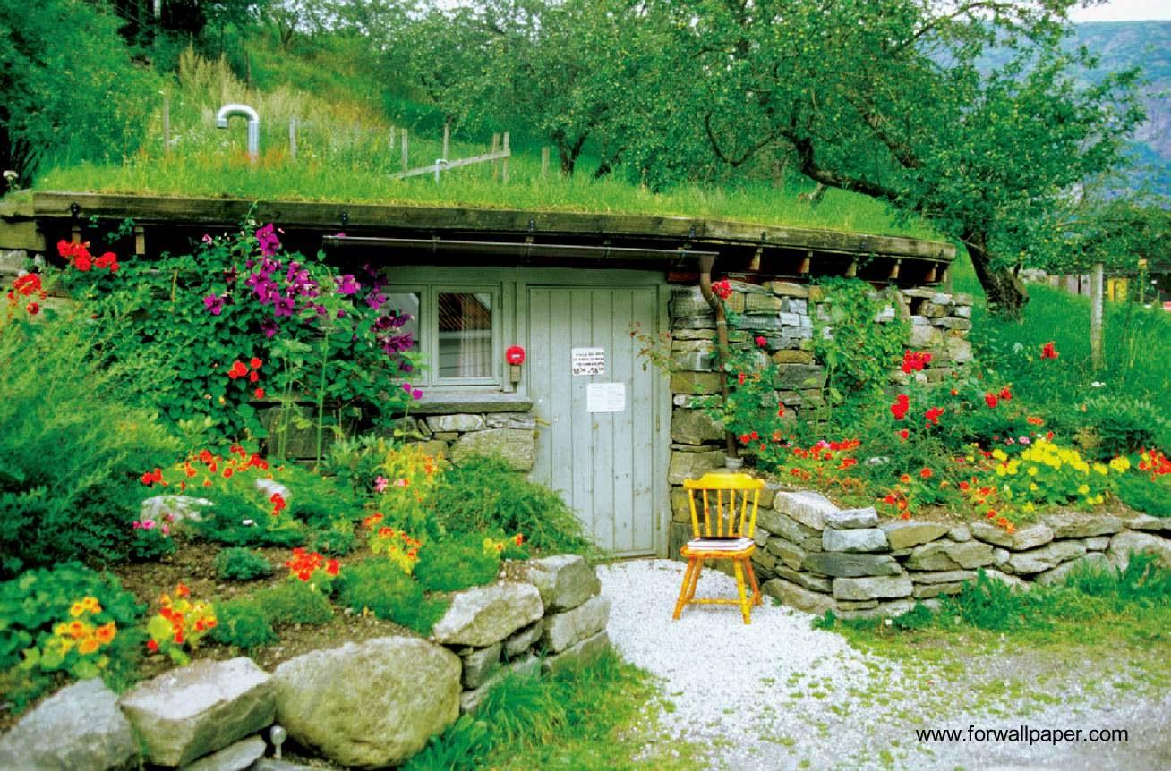 Arquitectura de casas 26 ejemplos de casas bonitas for Casas rusticas con jardin