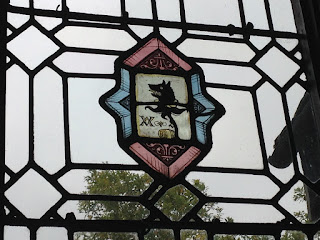 Little Moreton Hall Wolf Window