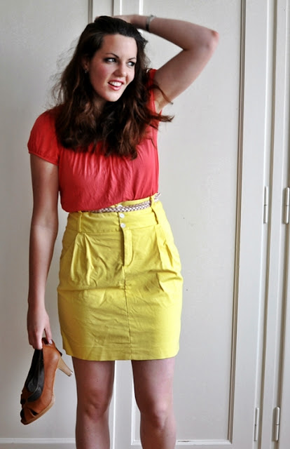 color, fashion, colorblocking, trend 2011, yellow, pink, rose, color blocking, sommermode